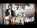 REAL amp vs FAKE amp: Kemper VS TUBE AMP