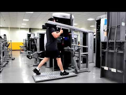Steelflex MEGA POWER Series Instruction Video-MCP 2200 Squat / Calf Press / Lunge