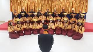 Lagu Daerah Sumatera Barat, Tari Indang (Dingding Ba Dingding) PSM Ahda Gitana