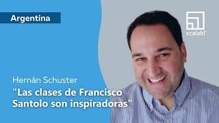 Hernán Schuster: Las clases de Francisco Santolo son inspiradoras