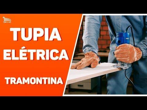 Tupia Elétrica 550 W  - Video
