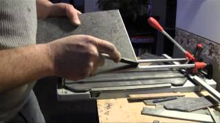 How To Cut Porcelain Tile-With a Tile Nippers