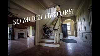 HUGE Plantation Explore! (SO LUCKY TO FILM THIS CREEPY/BEAUTIFUL HISTORIC HOME!)