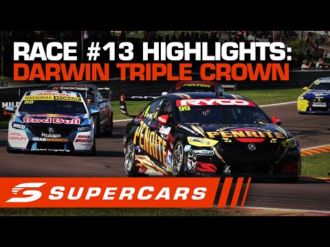 SUPERCARS BetEasy Darwin Triple Crown レース#13ハイライト動画