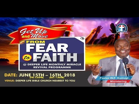 Pastor W. F. Kumuyi- The Faith That Conquers