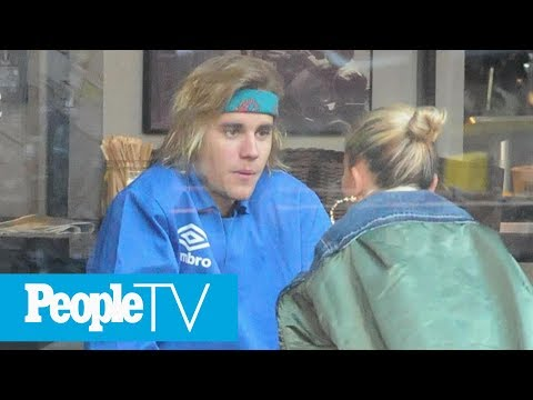 Justin Bieber Bonds With Hailey Baldwin After Admitting He's 'Been Struggling' | PeopleTV