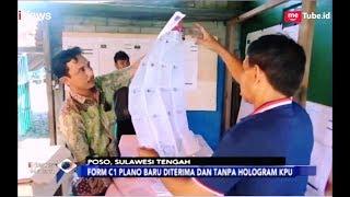 Form C1 Plano Baru Diterima, TPS di Poso Lanjutkan Perhitungan Suara - iNews Malam 18/04