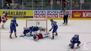 Česko - Švédsko MS V Hokeji 2019
