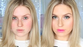 Eye Enhancing, Youthful Makeup! ♡ Soft Ombre Lips & Glowing Skin