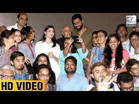 Alia Bhatt & Vicky Kaushal Hosts Special Screening