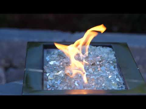 Ice Clear Reflective Fire Glass | BBQGuys Signature Series