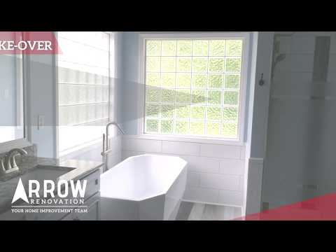 Bathroom Make-Over to a Home in Overland Park, KS