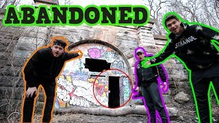 Lost In Abandoned Ghost Ritual Tunnel With Stromedy (We Found This!)