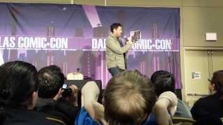 Karl Urban Panel - SFX Dallas 2/9/14 (Part 4)