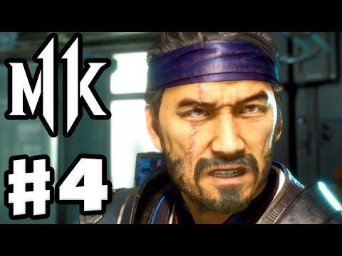 Mortal Kombat 11 - Gameplay Walkthrough Part 4 - Chapter 4: Fire