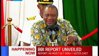 Uhuru Kenyatta makes fun of politicians who clashed over Kibra polls