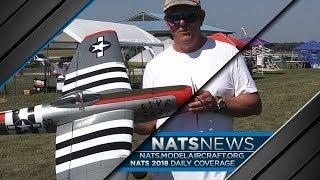 2018 Nats: 12-time Control Line Precision Aerobatics Champion Paul Walker and his P-47