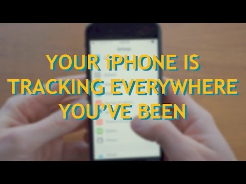 Your iPhone Is Tracking Everywhere You've Been