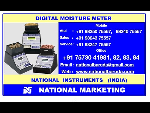 Chana Digital Moisture Meter DMA
