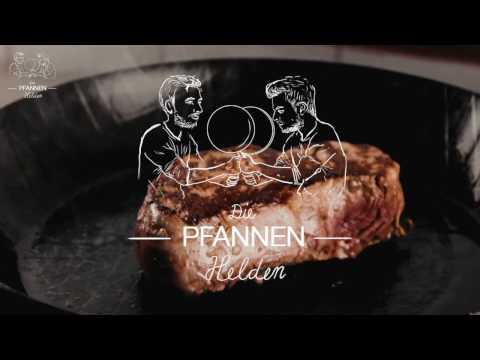 Eisenpfanne einbrennen im Ofen (ohne Rauch) - Pfannenhelden-Methode mit Leinöl