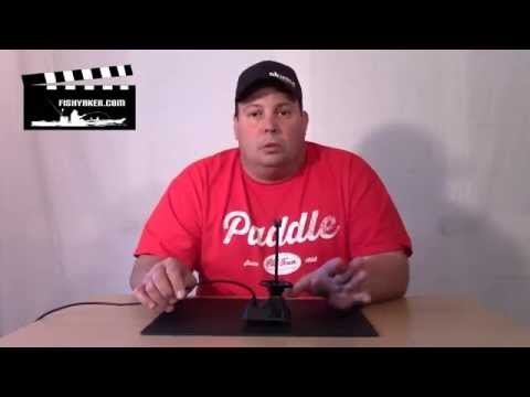 Old Town Predator 13 and Ocean Kayak Ultra Humminbird Fishfinder Transducer Boot: Episode 196