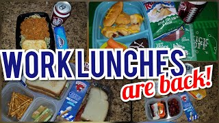 🥪 What's in my HUSBAND'S lunchbox is back!! 🌯| NEW Week of Work HOT 🌞 & COLD❄ Lunch ideas
