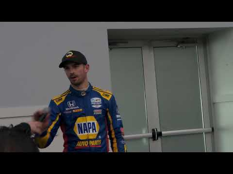 IndyCar Spring Training Day 1 Q&A with Alexander Rossi