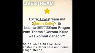 "Live Interview ""Corona-Krise was kommt danach?"""