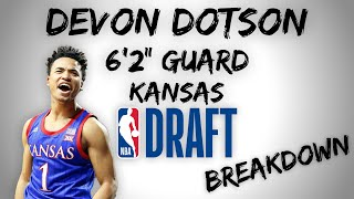 Devon Dotson Draft Scouting Video | 2020 NBA Draft Breakdowns