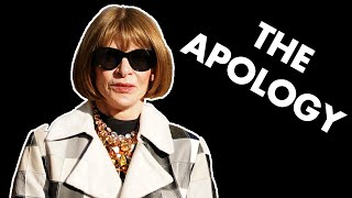 What Anna Wintours Useless Apology Says About The State Of Fashion