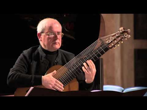 J.S. BACH – Suite in Sol min per liuto BWV 995 – DEL VESCOVO /Bach in Black