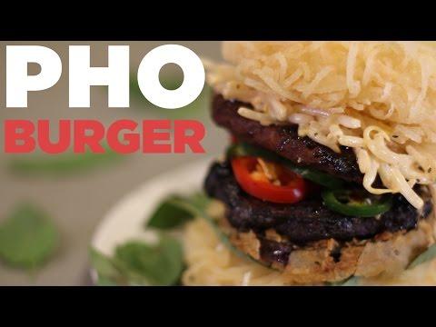 A Pho Burger Looks Way More Delicious Than A Ramen Burger