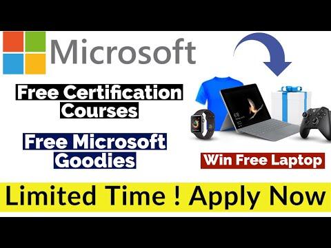 Microsoft Free Certification Courses | Free Microsoft Goodies ...