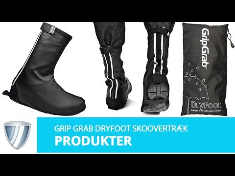 GripGrab Dryfoot til almindelige sko title=