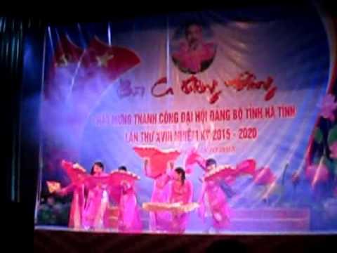 Chào mừng đại hội tỉnh Đảng bộ