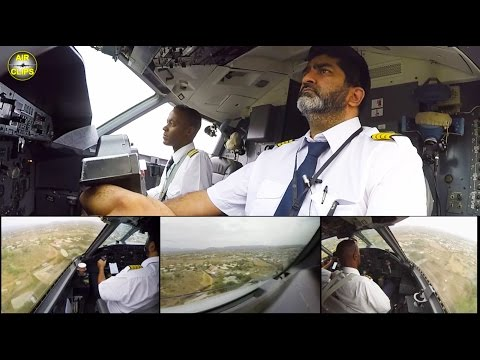 How to land a Dash 8 in your backyard? Watch Captain Armadeep and his Kakuma landing [AirClips]