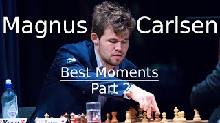 Best of Magnus Carlsen Part 2 - Funny and Angry Moments!