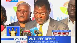 NASA leaders maintain that their planned peaceful demonstrations are still on