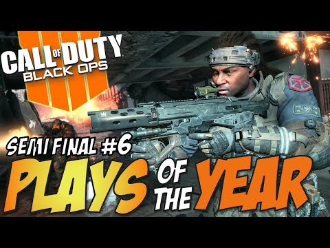 ONLY THE BEST SURVIVE!! - Call of Duty Black Ops 4 PLAYS OF THE YEAR Semi Final #6