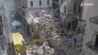 Liban: A fost reluată căutarea eventualilor supravieţuitori sub ruinele unei clădiri din Beirut