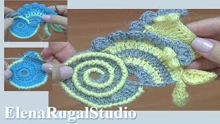 Freeform Crochet  Tutorial 13 Scrumbles