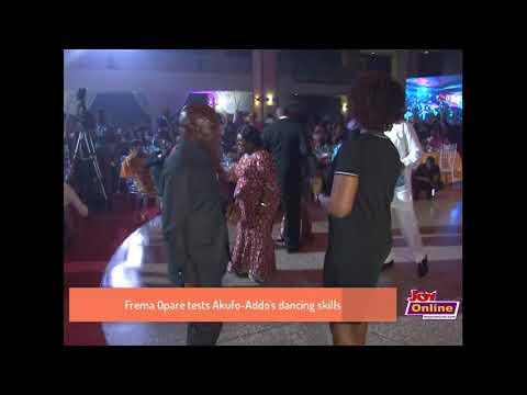 Watch: Nana Addo and Chief of Staff show their dancing skills
