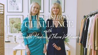 The T-Shirt Fashion Challenge with Jeanette Madsen and Thora Valdimars   NET-A-PORTER