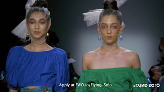 Apply for NYFW with Flying Solo