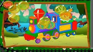 Собираем Пазлы. Железнодорожный Транспорт. Головоломки для детей