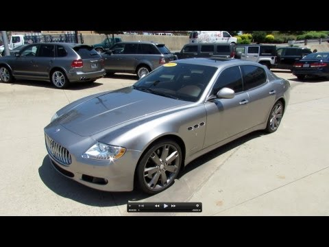 2009 Maserati Quattroporte S Start Up, Exhaust, and In Depth Review