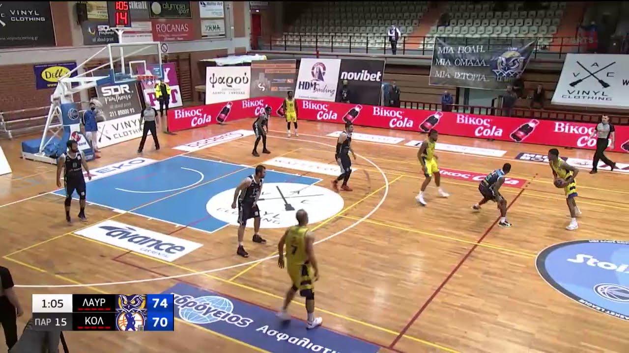 Basket League   Λαύριο – Κολοσσός   HIGHLIGHTS   10/03/2021   ΕΡΤ