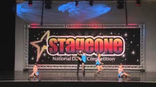 "MelRoe's School of Dance - Shining Stars - ""She's A Lady"""