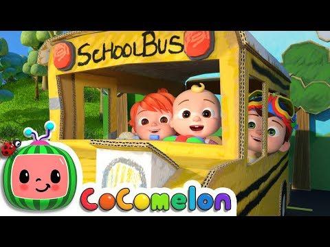 Wheels on the Bus 2 | CoCoMelon Nursery Rhymes
