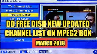 free dish tv channels setting 27 march 2019 - TH-Clip